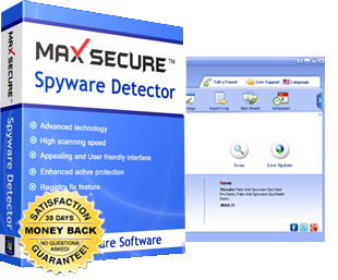 Max Spyware Detector Key - free spyware and malware removal software